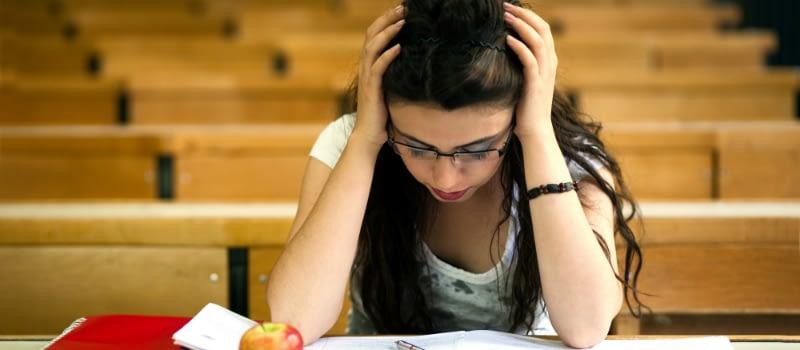 College Girl Feels Effects Of Binge Drinking