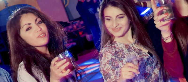 College Girls Binge Drinking