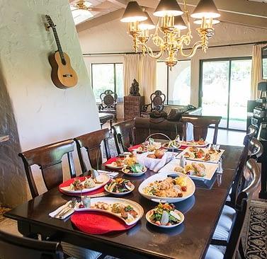 Gourmet Meals-Luxury Rehab-Summit Estate