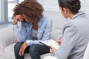 a woman enrolls in a cocaine addiction treatment program in ca
