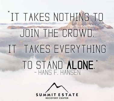 It Takes Nothing To Join The Crowd-Dissociative Drugs-SummitEstate.com