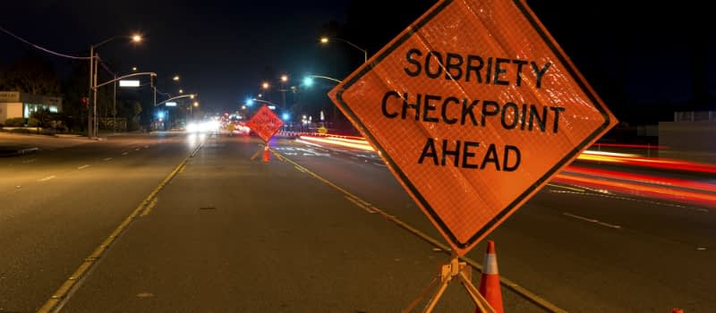 DUI Campus Sobriety Checkpoint