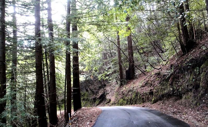Private Road To Summit Estate