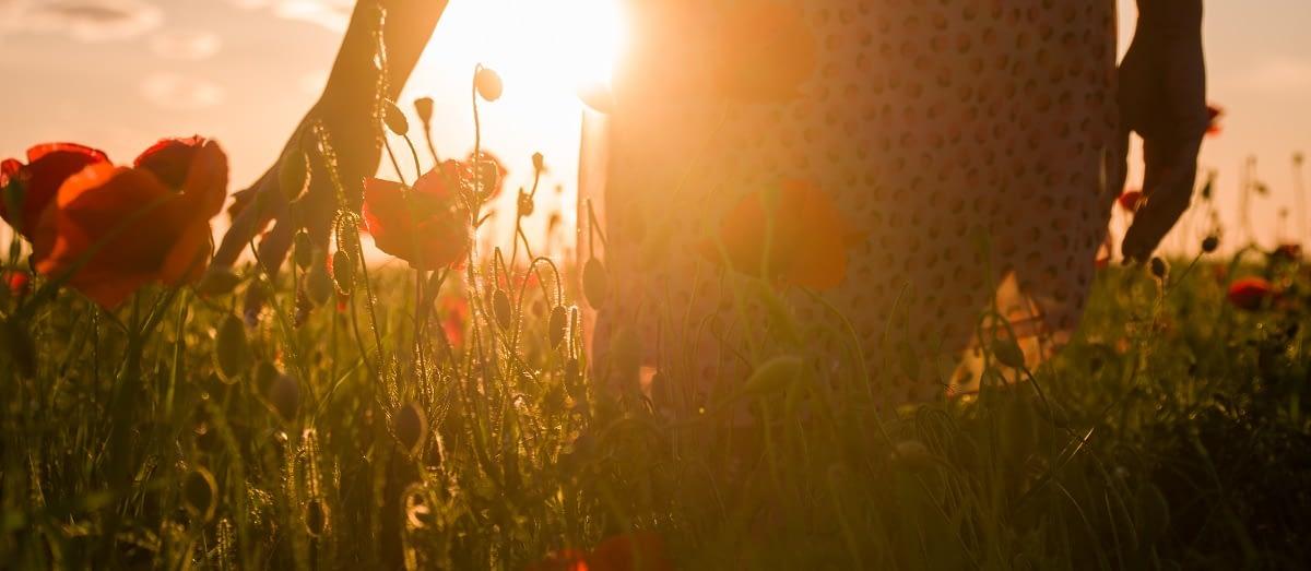 Walking Through Flowers-Opiate Addiction Treatment