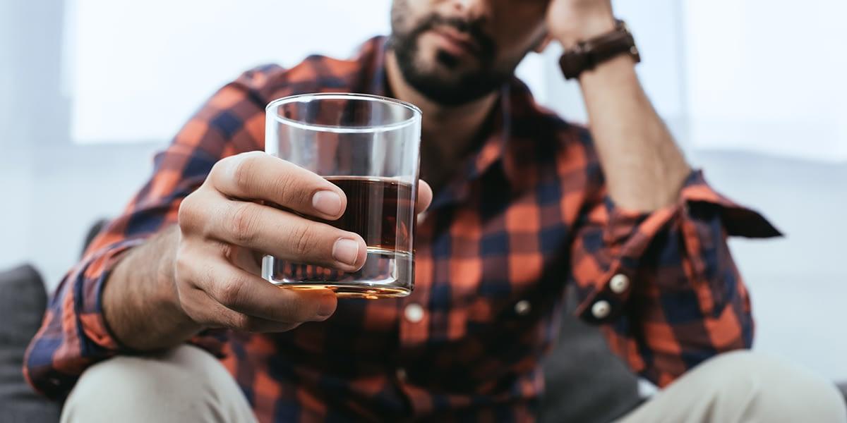 Man who abuses both Xanax and alcohol