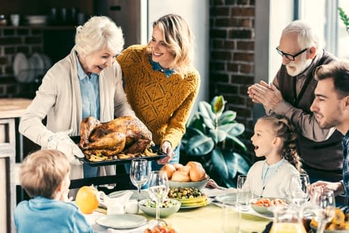 Finding Gratitude at Thanksgiving When We're Struggling