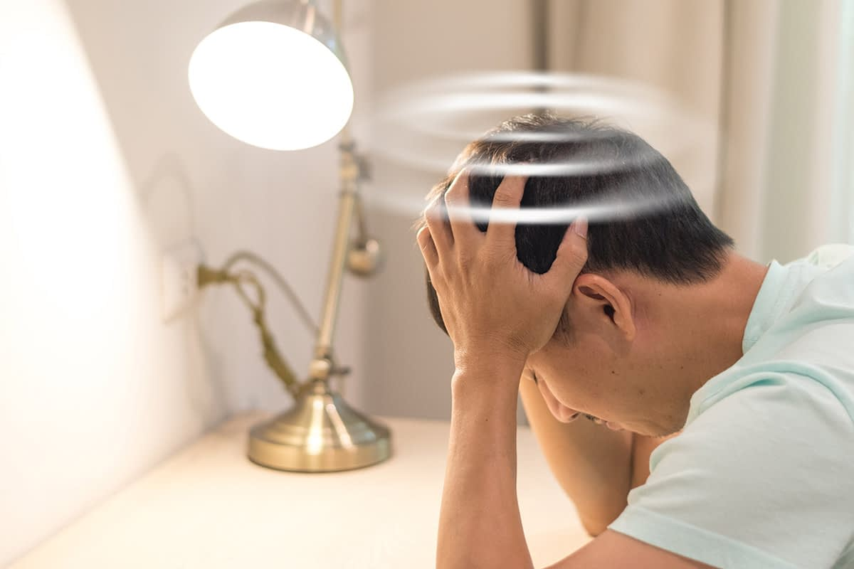 a man stressed feeling the effects of pcp