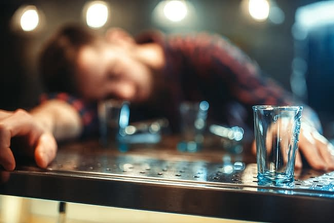 Man who needs to know how long does it take to detox from alcohol