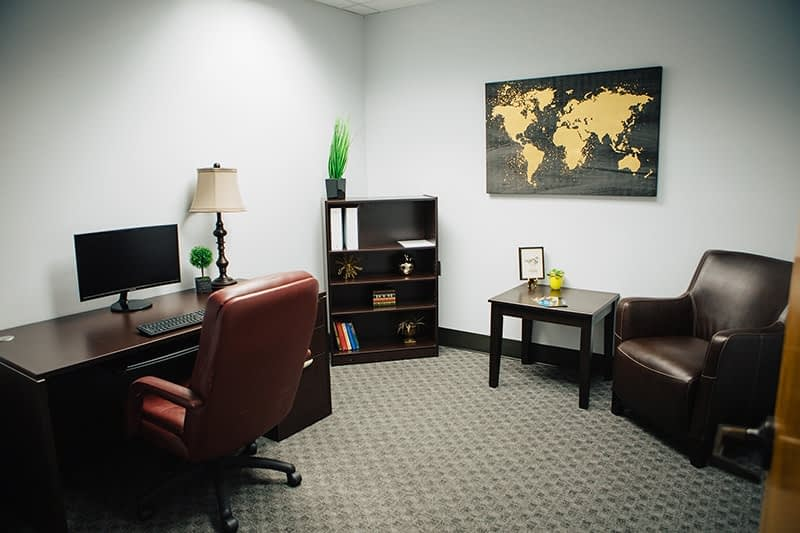 Inside view of a Bayview Recovery office