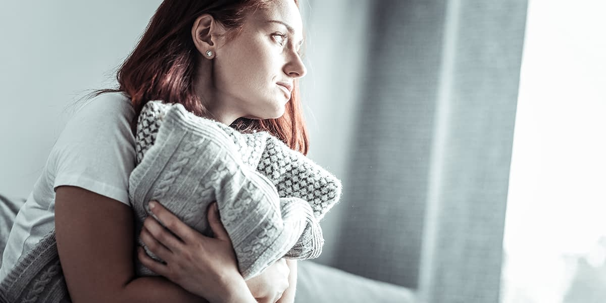 a woman in need of a depression and anxiety treatment