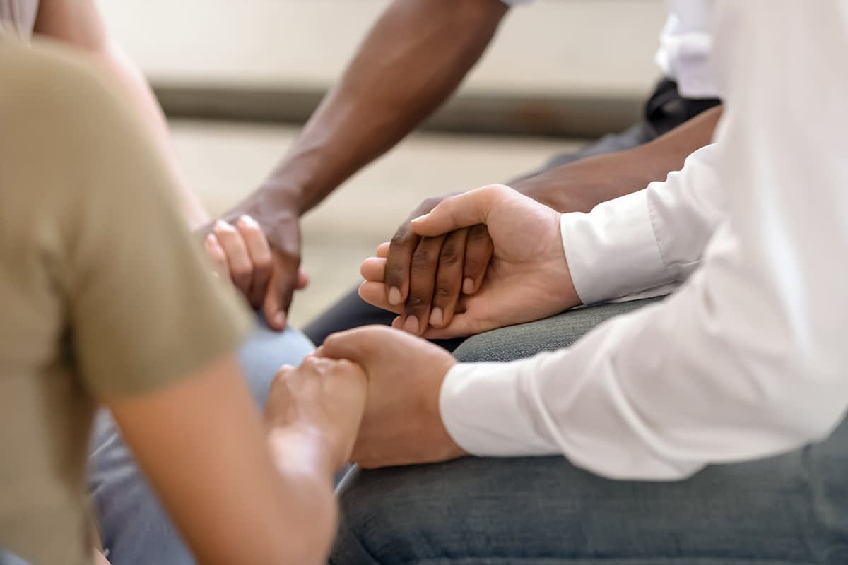 a group therapy program at codeine addiction rehab center
