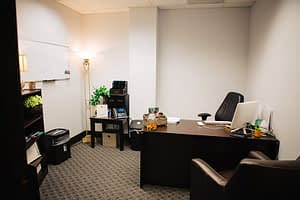 Office room at the Bayview Recovery Center