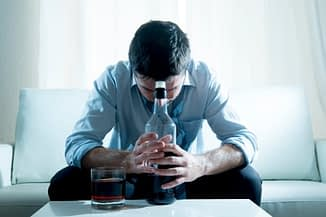 Despairing Man Needs to Know How to Stop Drinking Alcohol