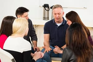 Drug counseling in group therapy important to addiction treatment.