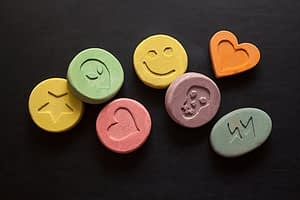 What looks like decorated candy can lead to an MDMA addiction