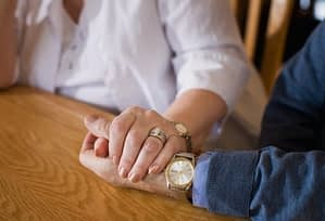 Holding hands and asking for help can be a part of substance abuse detoxification Begins With Asking for Help
