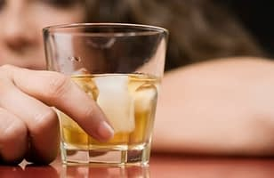 Crumpling over a drink may mean you need alcohol detox center to start addiction recovery