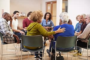 group therapy session at GHI Emblem Health detox center in Ft Lauderdale