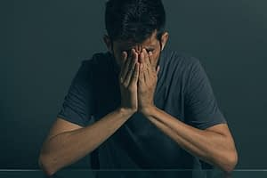 Man wondering about crystal meth effects