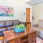 Waiting room at Crestview Recovery Centers drug and alcohol rehab facilities