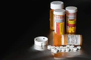 pills on table are schedule 2 drugs