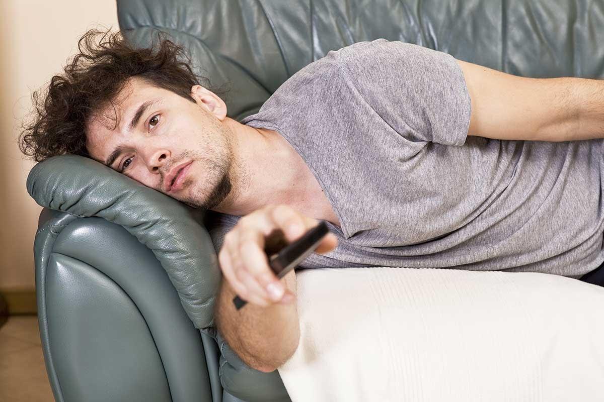 man who needs help with addictive behaviors