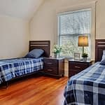 our crestview rehab center has bedrooms