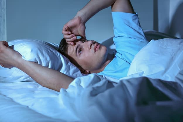 insomnia during recovery at a rehab center in portland