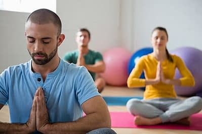 people doing yoga at holistic drug rehab centers in portland oregon