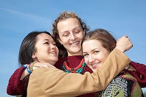 group enjoying rehab near lake oswego