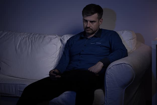 man thinking about benzo addiction recovery