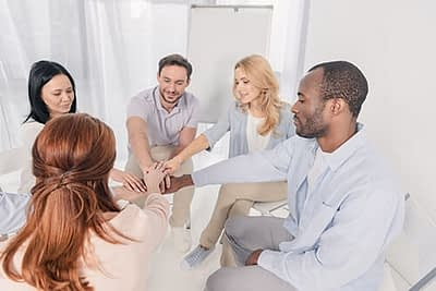 group therapy at the best portland drug rehab for adults