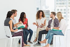 co-ed group therapy Addiction Programs