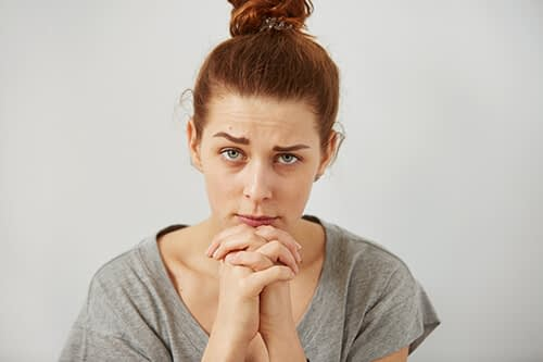 concerned woman is trying to learn what is detox