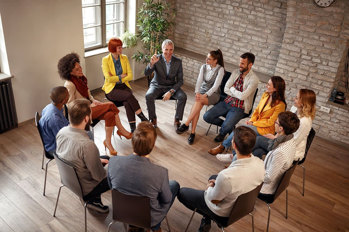 support group at longview drug addiction treatment center
