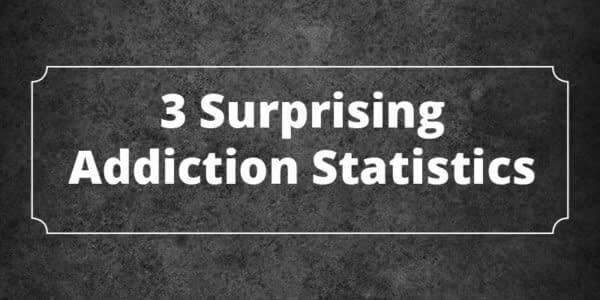 addiction statistics infographic