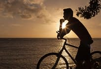man on a bike needs alcohol treatment centers