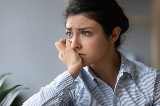 woman wondering does substance abuse cause depression