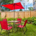 Outdoor seating at Crestview Recovery Centers drug and alcohol rehab facilities