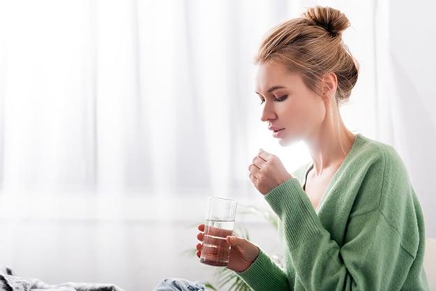 woman who has a gateway drug addiction