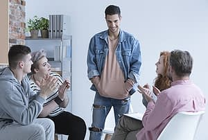Drug counseling session | Crestview Recovery