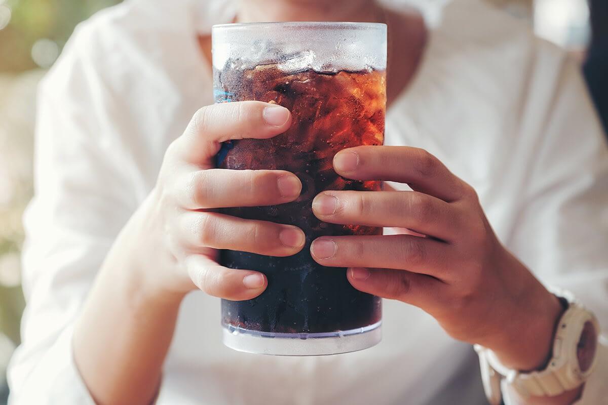 woman needing lean drink rehab