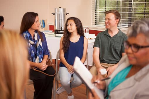 family therapy at Crestview Recovery