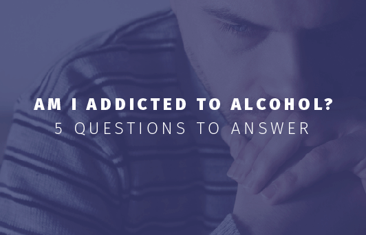 am i addicted to alcohol - infographic