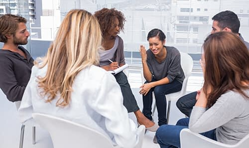 group therapy for addiction at crestview recovery