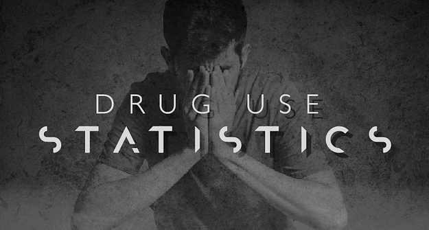 Drug Use Statistics infographic
