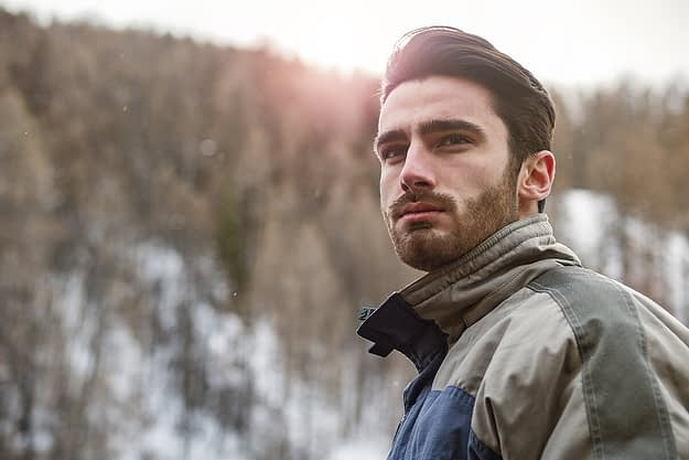 man getting help coping with loneliness