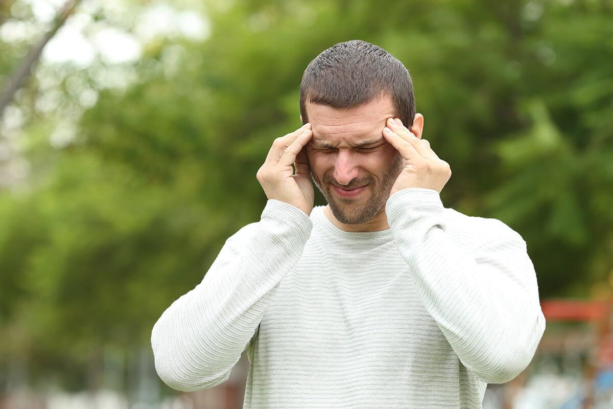 man having xanax side effects