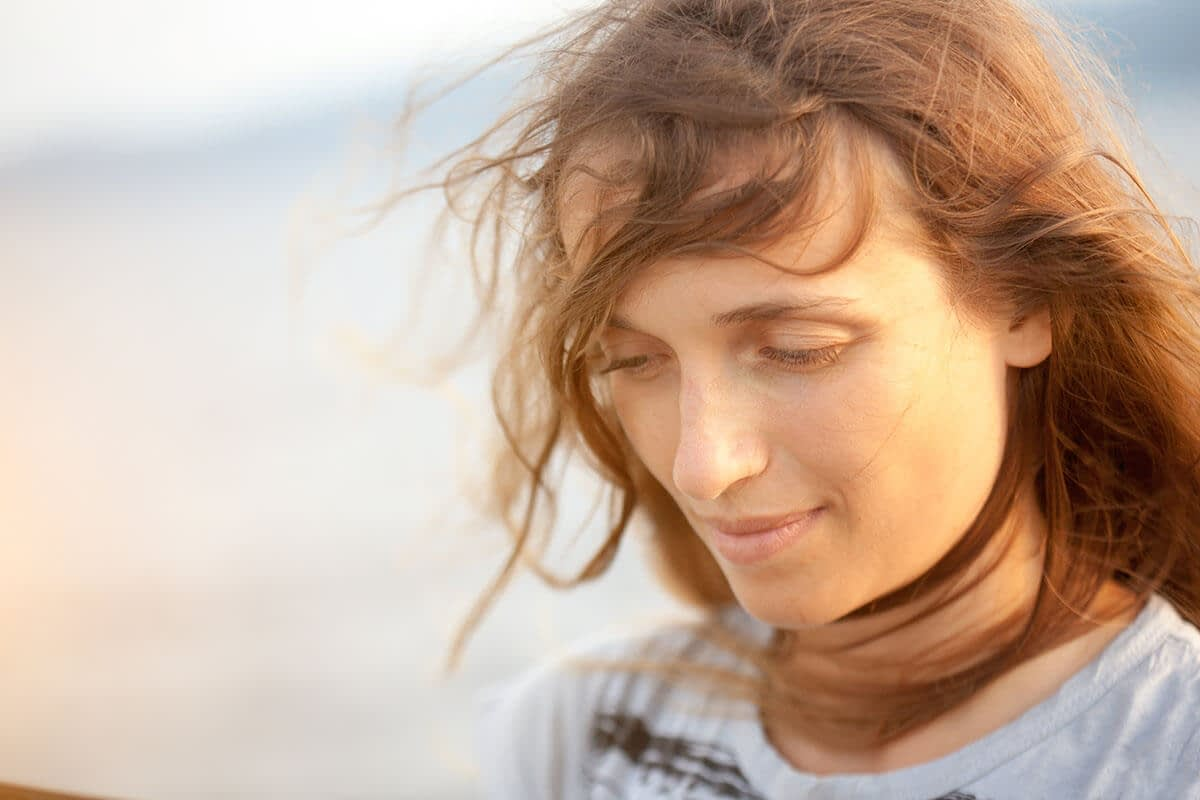 woman thinking about life in recovery