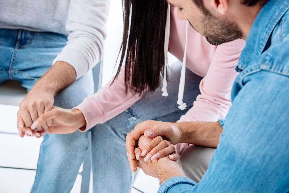 people at a drug rehab program near Beaverton